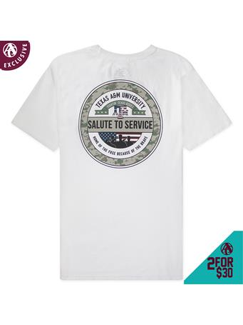 Texas A&M Salute To Service T-Shirt