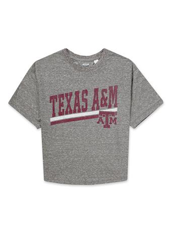 Texas A&M League Knobi Crop Top