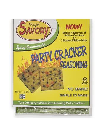 Original Savory Spicy Guacamole No Bake Party Cracker Seasoning