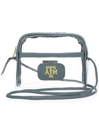 Texas A&M Jon Hart Steel Leather Becky Crossbody