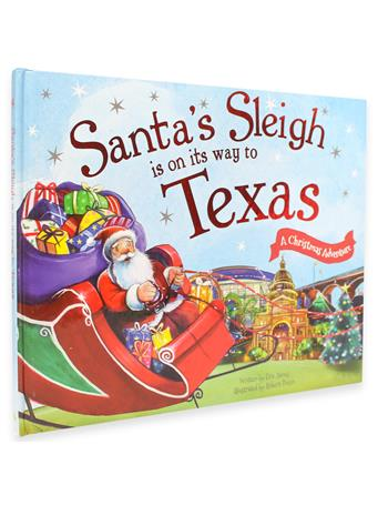 Santa's Sleigh On Its Way to Texas Book