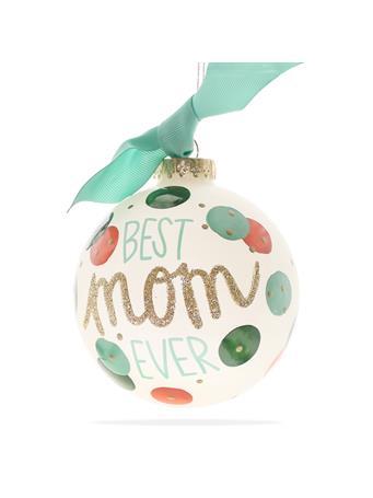 Coton Colors Best Mom Ever Ornament
