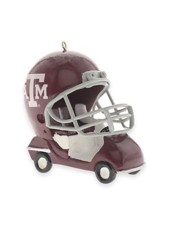 Texas A&M Field Car Ornament