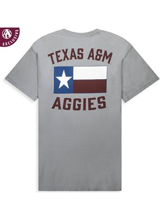 Texas A&M Aggie Texas Flag T-Shirt