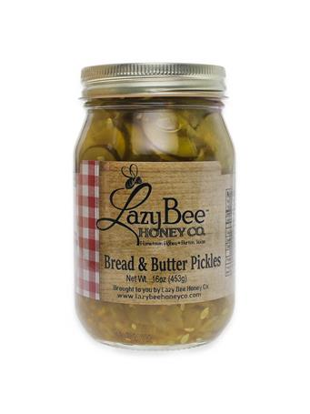 Lazy Bee Honey Bread & Butter Pickles