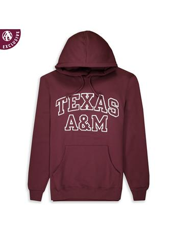 Texas A&M Outline Adult Hoodie