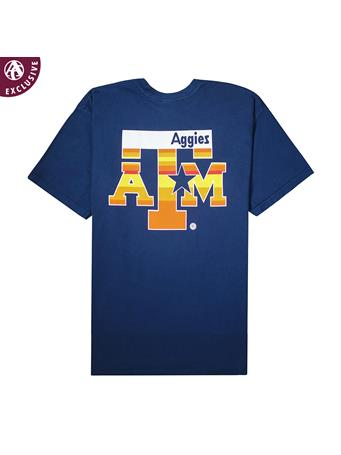 Texas A&M Blue & Orange Star Youth T-Shirt