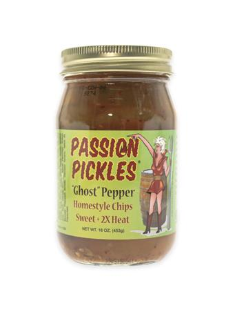Ghost Pepper Passion Pickles