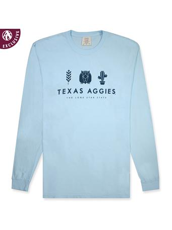 Texas A&M Lone Star State Long Sleeve Tee
