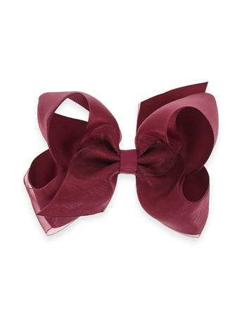 Maroon Medium Overlay Basic Bow