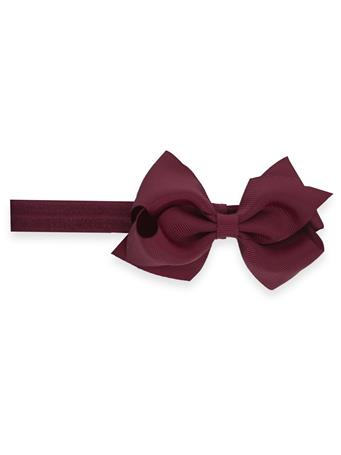 Removable Extra Small Bow with Matching Band
