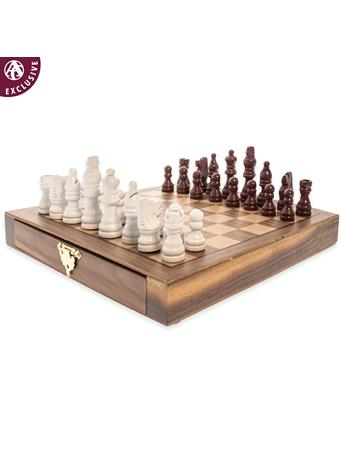 Maroon Rivalry Magnetic Chess Set