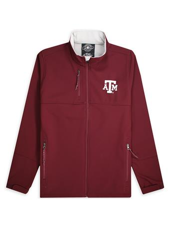 Texas A&M Charles River Embroidered Logo Full Zip Jacket