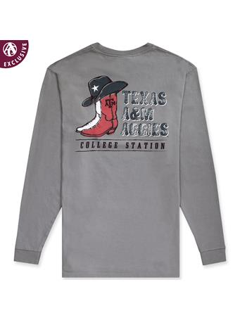 Texas A&M Aggie Cowboy Long Sleeve Tee