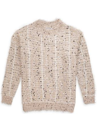 Women's Fuzzy Knit Sweater