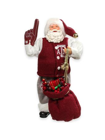 Texas A&M Santa Claus #1 Fan Figurine