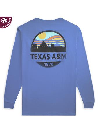Texas A&M Sunset Skyline Long Sleeve