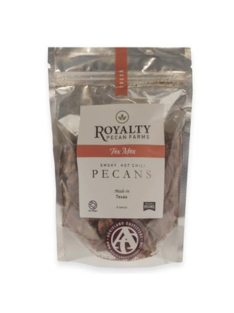 Royalty Farms Spicy Texan Pecans - 8 Ounces