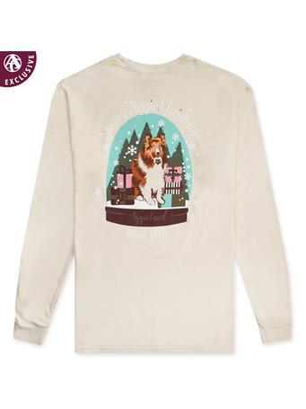 Texas A&M Reveille Snow Globe Long Sleeve T-Shirt