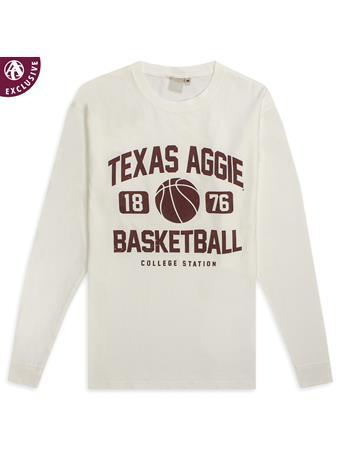 Texas A&M Aggie Basketball 2019 Long Sleeve Tee