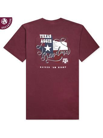 Texas A&M Aggie Grandma Deep In The Heart T-Shirt