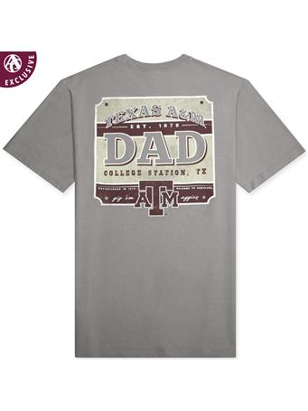 Texas A&M Rustic Aggie Dad T-Shirt