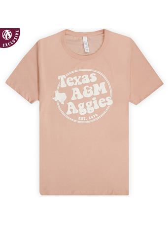 Texas A&M Aggies Peachy Texas T-Shirt