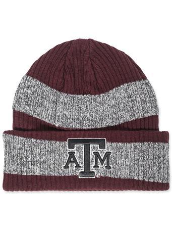 Texas A&M Adidas Stripe Beanie