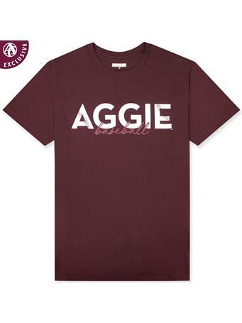 Texas A&M Stitched Aggie Baseball T-Shirt