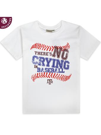 Texas A&M No Crying In Baseball Tee