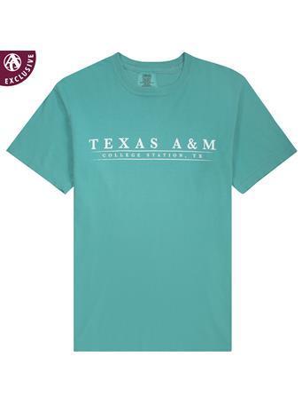 Texas A&M Basic Bar Coastal T-Shirt