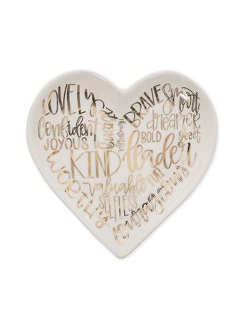 Heart Affirmation Trinket Tray