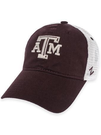 Texas A&M Zephyr Vintage Adjustable Mesh Back Cap