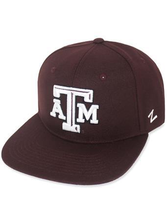 Texas A&M Zephyr Flatbill Adjustable Cap