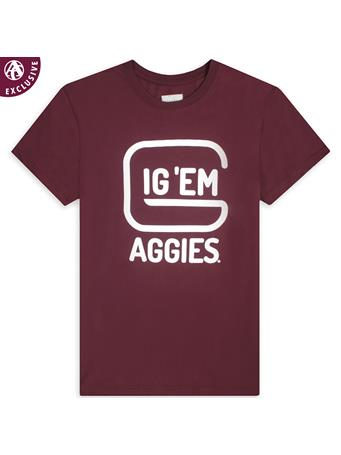 Texas A&M Aggies Pistol T-Shirt