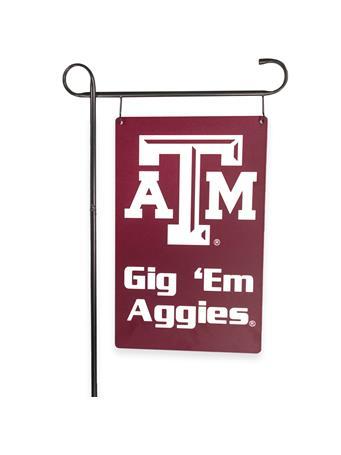 Texas A&M Garden Sign