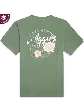 Texas A&M Aggies Floral 1876 T-Shirt