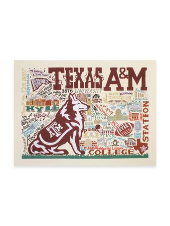 CatStudio Texas A&M Collegiate Fine Art Print 10