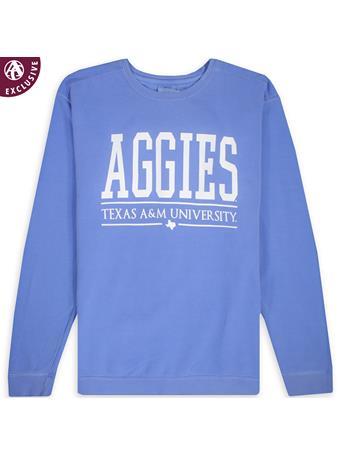 Texas A&M Big All Caps Aggies Sweatshirt