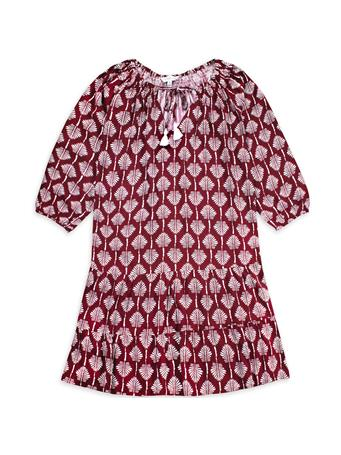 Maroon Escapada La Mer Luxe Emily Havana Dress