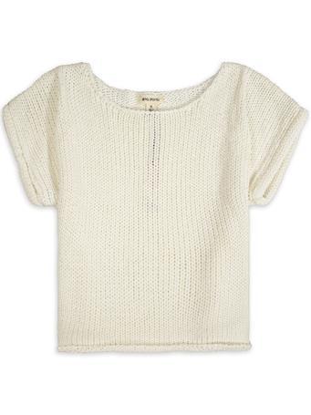 Rag Poets Fontelina Short Sleeve Sweater