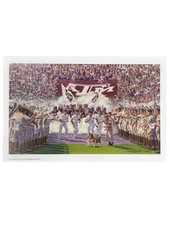 Texas A&M Benjamin Knox Into The SEC Limited Edition Print