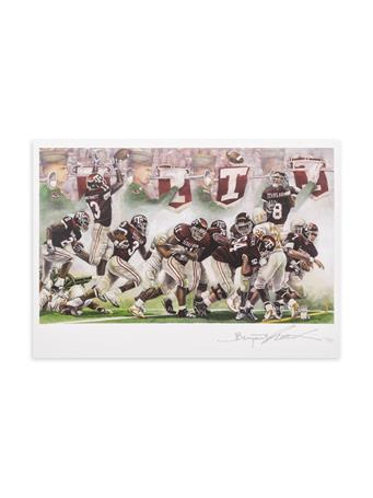 Texas A&M Benjamin Knox Texas Aggies Score Single Note Card