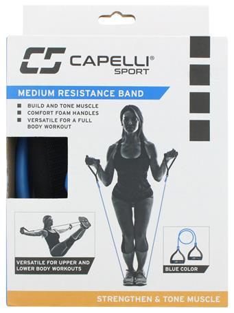 CAPELLI -Medium Resistance Band BLUE