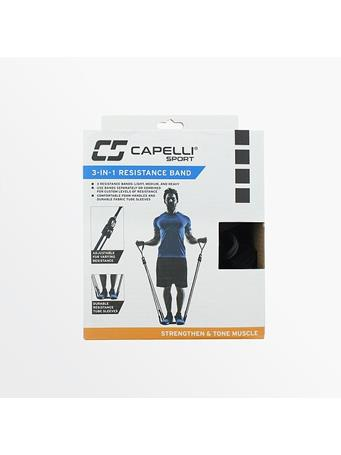 CAPELLI -3 In 1 Resistance Band BLACK