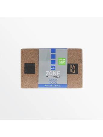 CAPELLI - Cork Yoga Block  NATURAL