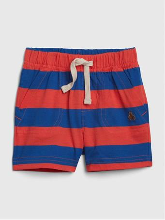 GAP - Baby Stripe Shorts ADMIRAL-BLUE