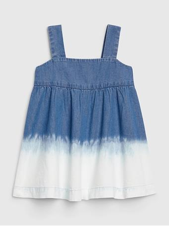 GAP - Baby Dip-Dye Denim Dress INDIGO DIP DYE