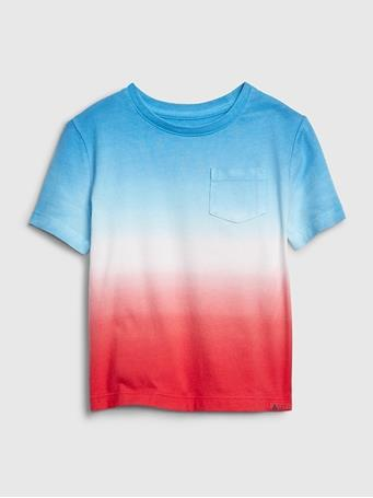 GAP - Toddler Print T-Shirt Short Sleeve Ombre May {#color}