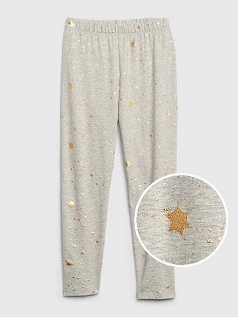 GAP - May Crop Legging Foil Stars {#color}